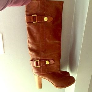 Beautiful, 100% Authentic, Coach leather boots.